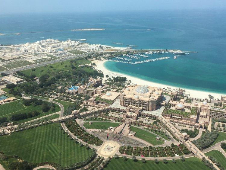 Ausblick aus der Luft