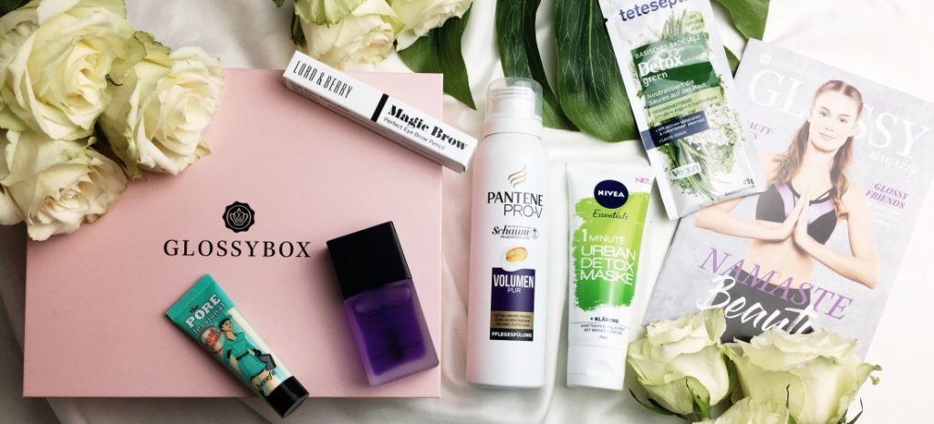 GLOSSYBOX Namaste Beauty Edition