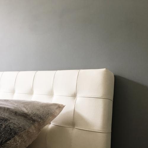 Wandfarbe grau
