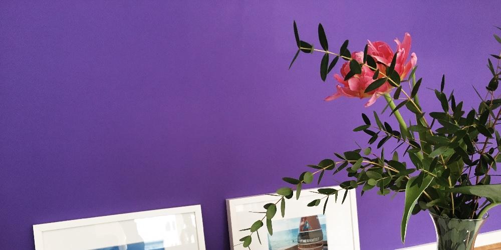 Trendfarbe lila